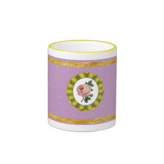 luxury rose mug