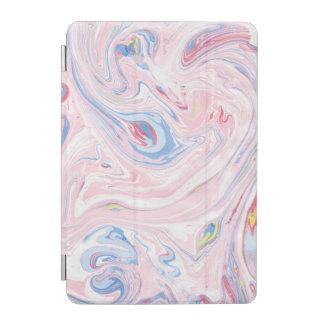 Luxury Rose Pink Marble Pastel Elegant Modern Art iPad Mini Cover