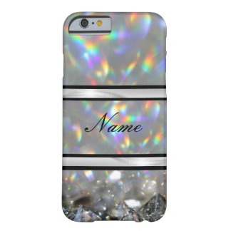 Luxury sparkle personalised barely there iPhone 6 case