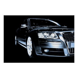Luxury Sports Car Poster