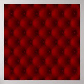 Luxury Upholstery Design Poster
