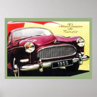 Luxury Vintage Car Ad 1959 Poster