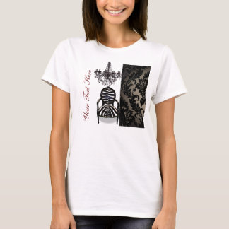 Luxury Vintage Chandelier Boutique business T-Shirt