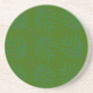 Luxury vintage Palms / Summer edition Coaster