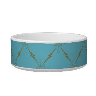 Luxury wallpaper cat bowls