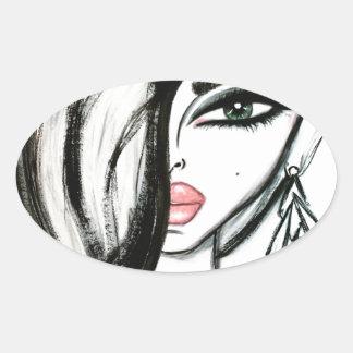 Luxury - Wendy Buiter Oval Sticker