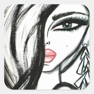 Luxury - Wendy Buiter Square Sticker