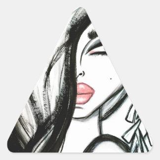Luxury - Wendy Buiter Triangle Sticker