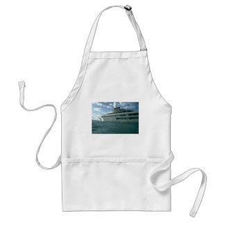 Luxury yacht aprons