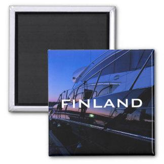 Luxury yacht in Finland magnet