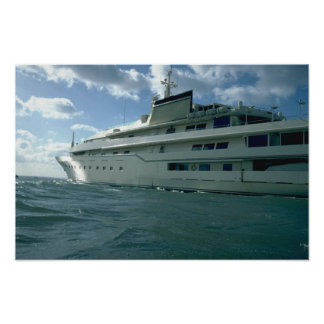 Luxury yacht posters