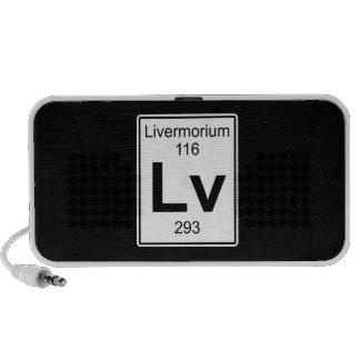 Lv - Livermorium iPod Speaker