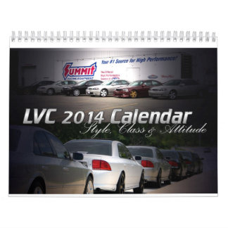 LVC 2014 Lincoln LS Calendar
