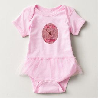 LVC Baby Tutu Snuggle, Pink Baby Bodysuit