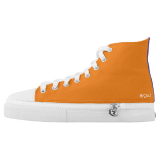 Lvca Custom Zip High Top Shoes
