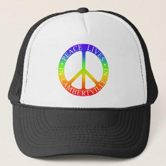 L'ville Peace Trucker Hat