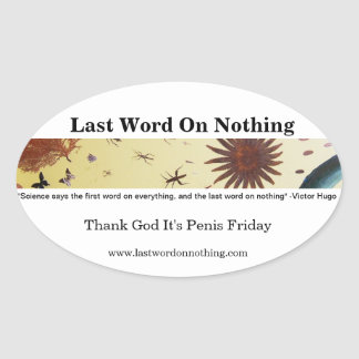 LWON Thank God Sticker