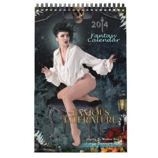 Lycan Productions Famous Literature Calendar 2014