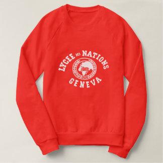 Lycée des Nations Vintage Sweatshirt (RED)