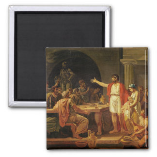 Lycurgus Showing the Ancients of Sparta their Square Magnet