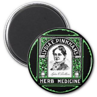 Lydia E. Pinkham 6 Cm Round Magnet
