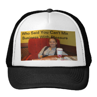 """Lydia Sharpe """"Business With Pleasure"""" Hat"""
