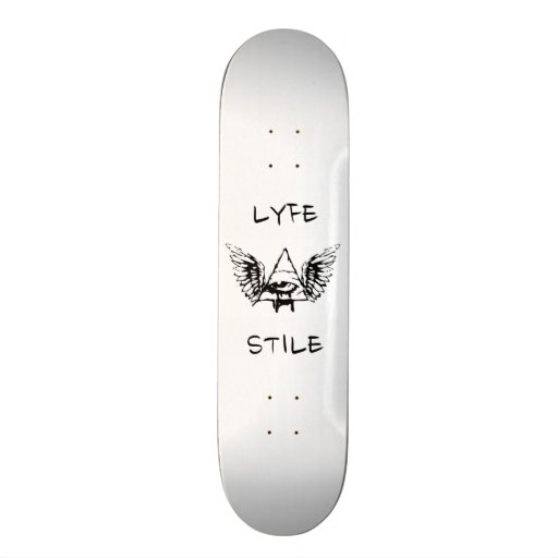Lyfe Stile skateboard deck