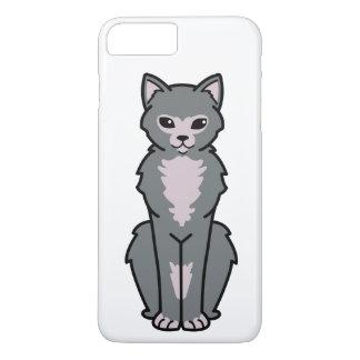 Lykoi Cat Cartoon iPhone 7 Plus Case