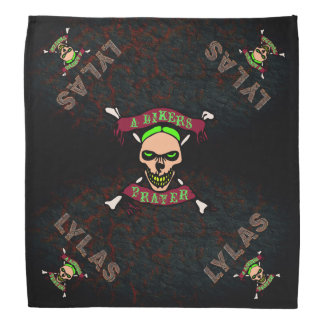 LYLAS Love You Like A Sister Bikers Prayer Bandana