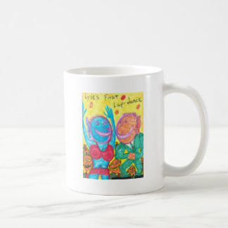 Lyle's First Lap-dance Basic White Mug