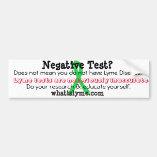 Lyme Awareness Bumper Sticker