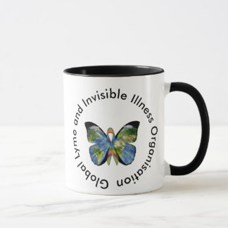 Lyme Disease and Invisible Illness Coffee Mug