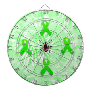 Lyme Disease Awareness Dart Board