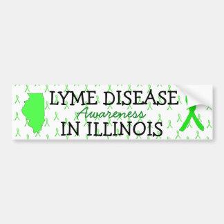 Lyme Disease Awareness Illinois Bumper Stickers