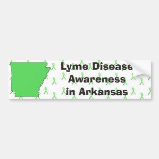 Lyme Disease Awareness in Arkansas Bumper Sticker