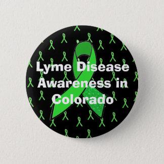 Lyme Disease Awareness in Colorado Button
