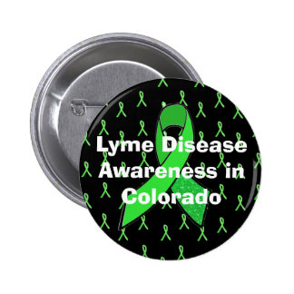 Lyme Disease Awareness in Colorado Button