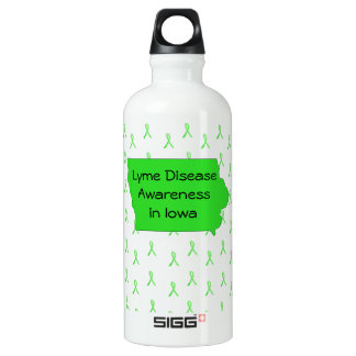 Lyme Disease Awareness in Iowa Water Bottle SIGG Traveller 0.6L Water Bottle