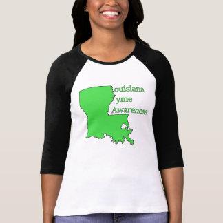 Lyme Disease Awareness in Louisiana  Jersey T-Shirt
