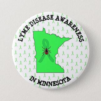 Lyme Disease Awareness in Minnesota Button