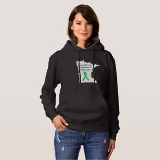 Lyme Disease Awareness in Minnesota Hoodie