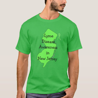 Lyme Disease Awareness in New Jersey T-Shirt