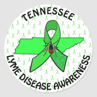 Lyme Disease Awareness IN Tennessee Sticker