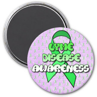 Lyme Disease Awareness Ribbon Magnet