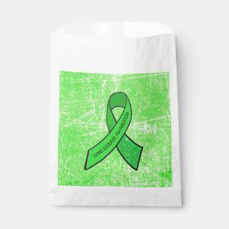 Lyme Disease Awareness Ribbon Party Favor Bag