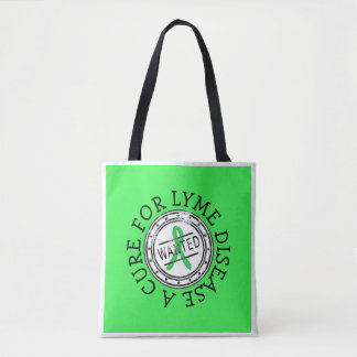 Lyme Disease Awareness Tote Bag