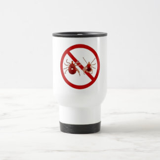 LYME DISEASE AWARENESS ! TRAVEL MUG
