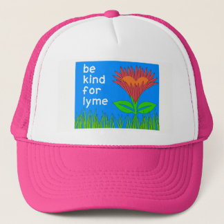 Lyme Disease Awareness - Trucker Hat for Spring