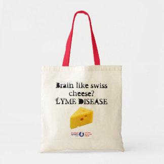 Lyme disease budget shopping bag