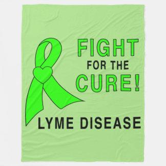 Lyme Disease Fight for the Cure Fleece Blanket